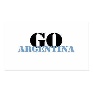 Argentina Business Cards