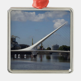 Argentina, Capital city of Buenos Aires. Woman Christmas Ornament