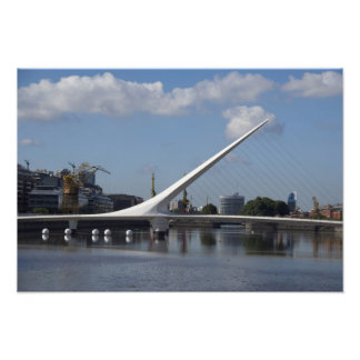 Argentina Capital city of Buenos Aires Woman Photographic Print