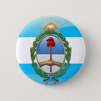 Argentina Coat of arms 6 Cm Round Badge