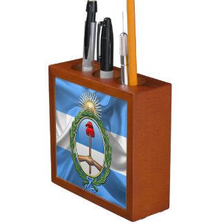 Argentina Coat of arms Desk Organiser