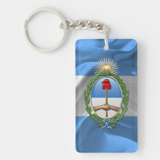 Argentina Coat of arms Key Ring