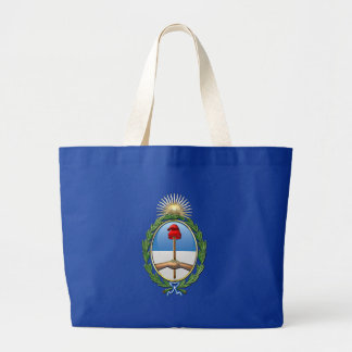 Argentina Coat of arms Large Tote Bag