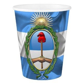 Argentina Coat of arms Paper Cup