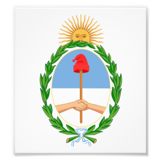 Argentina Coat Of Arms Photograph