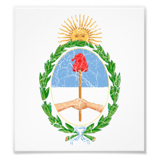 Argentina Coat Of Arms Photographic Print
