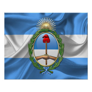Argentina Coat of arms Poster