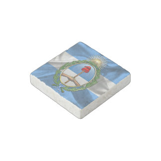 Argentina Coat of arms Stone Magnet