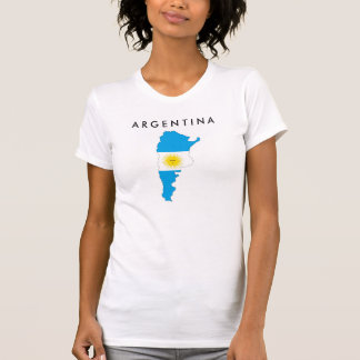 argentina country flag map shape symbol T-Shirt
