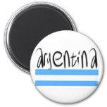 Argentina design! 6 cm round magnet