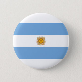Argentina Flag 6 Cm Round Badge