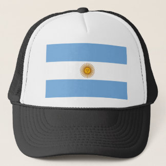Argentina Flag AR Trucker Hat