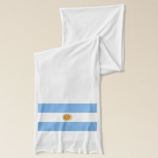 Argentina Flag - Bandera Argentina Scarf