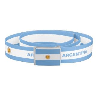 Argentina Flag Belt