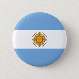 Argentina Flag Button