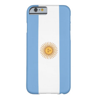 Argentina Flag Barely There iPhone 6 Case
