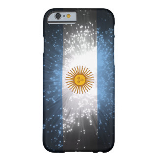 Argentina Flag Firework Barely There iPhone 6 Case