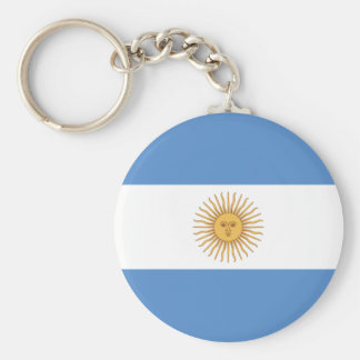 Argentina Flag Key Ring