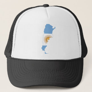 Argentina Flag map AR Trucker Hat