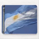 Argentina Flag Mousepad