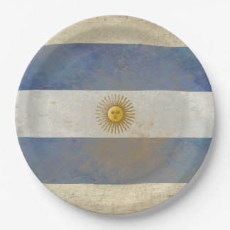 Argentina Flag Paper Plates
