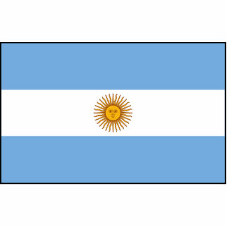 Argentina Flag Photo Cut Outs