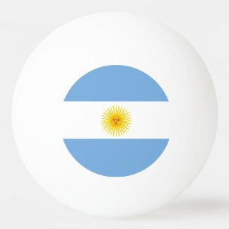 Argentina Flag Ping Pong Ball