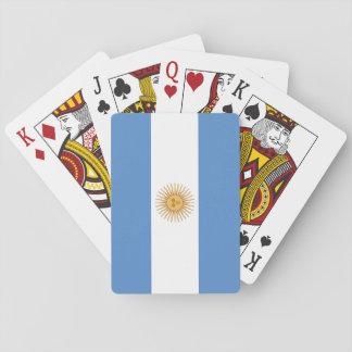 Argentina Flag Poker Deck