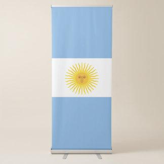 Argentina Flag Retractable Banner