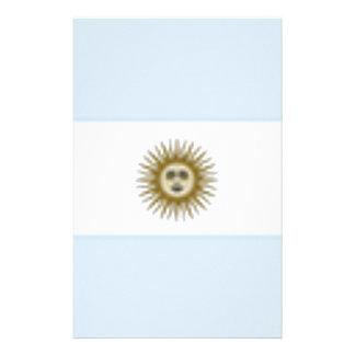 Argentina Flag Stationery
