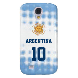 Argentina Flag Sun of May - Custom Player Number Galaxy S4 Case