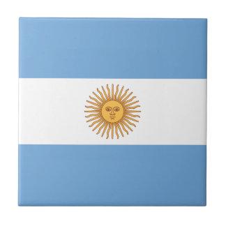 Argentina Flag Tile