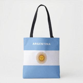Argentina Flag Tote Bag