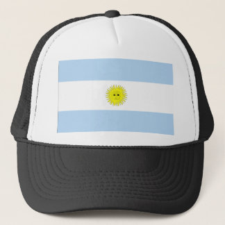 Argentina-flag Trucker Hat