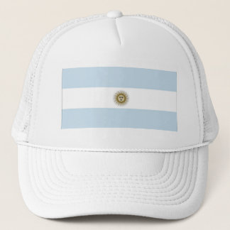 Argentina Flag Trucker Hat