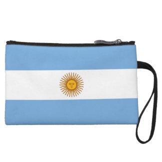 Argentina Flag Wristlets Wallet