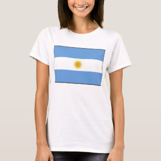 Argentina Flag x Map T-Shirt