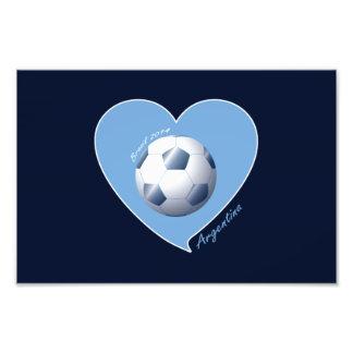 ARGENTINA Fútbol Corazón de Brasil 2014 Fotografías