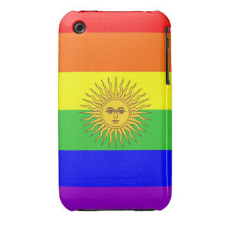 argentina gay proud rainbow flag homosexual iPhone 3 cases