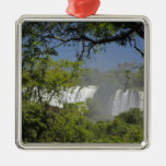 Argentina, Iguacu Falls in sun. 2 Christmas Ornament