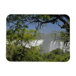 Argentina, Iguacu Falls in sun. 2 Magnet