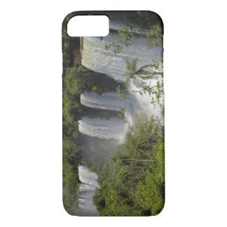 Argentina, Iguacu Falls in sun. iPhone 7 Case