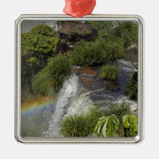 Argentina, Iguacu Falls. Rainbow at Iguacu Christmas Ornament