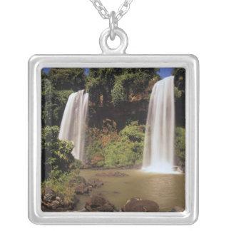 Argentina, Igwazu, Igwazu falls. Salto Dos Silver Plated Necklace
