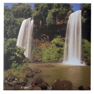 Argentina, Igwazu, Igwazu falls. Salto Dos Tile