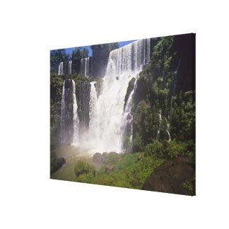 Argentina; Igwazu; Igwazu Falls. Salto San Canvas Print