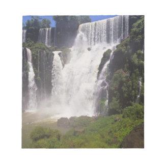 Argentina; Igwazu; Igwazu Falls. Salto San Notepad