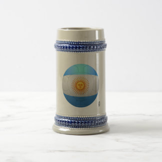 Argentina  - La Albiceleste Football Beer Steins
