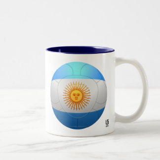 Argentina  - La Albiceleste Football Two-Tone Mug