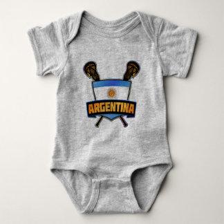 Argentina Lacrosse Logo Babygrow Baby Bodysuit